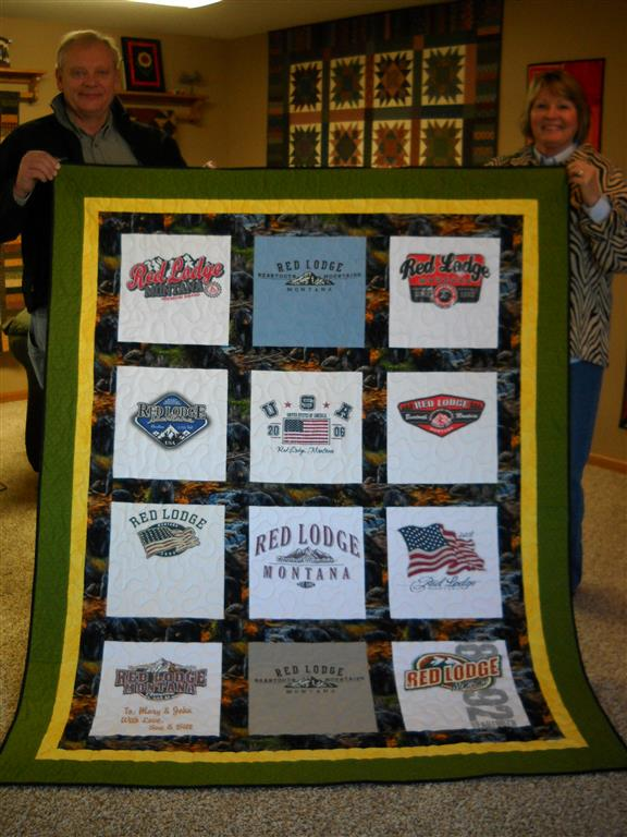 T Shirt Quilts Down Under Quilting