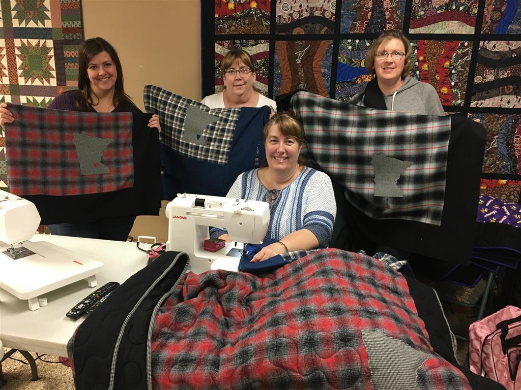 Cozy Minnesota quilt